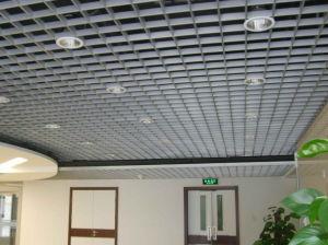Plafond d coratif faux suspendu par aluminium de cellules for Faux plafond suspendu decoratif