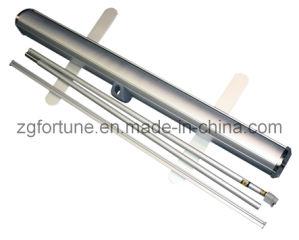Roll de alumínio acima de Banner Stand (tipo de luxe de Japão)