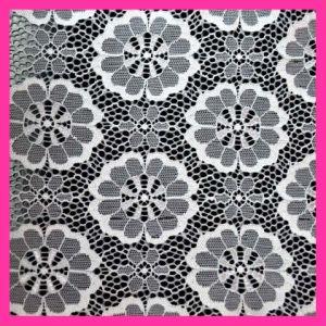 Tissu en nylon 143 de lacet de mode