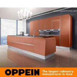 Gabinetes de cocina modernos de la laca de Oppein (OP11-X101)
