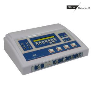 Machine faciale galvanique de fille de face de soins de la peau secs de levage (CE, ISO13485 since1994)