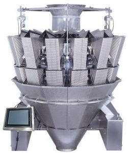 14 teste Multihead Combination Weigher con Touch Screen