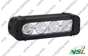 "8 "" éclairage LED Bar (NSL-4004C-40W) de Single Row de CREE d'IP68 Waterproof 40W"