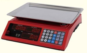 40kg S.S Flat Tray Electronic Price Scale