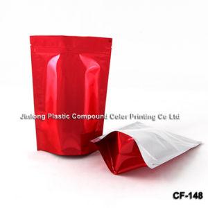빨간 보통 재고 커피 포장 부대
