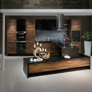 High Gloss PVC Gabinete de cocina (OP12-X153)