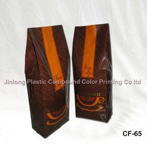 250g 커피를 위한 쿼드에 의하여 밀봉되는 플레스틱 포장 부대