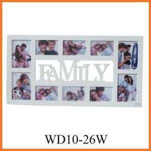 декоративная установленная рамка фотоего семьи 10-Piece (WD10-26W)