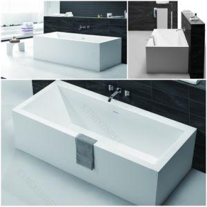 baignoire chaude autonome en pierre de marbre en forme de. Black Bedroom Furniture Sets. Home Design Ideas