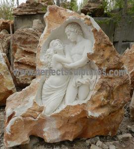 Esculturas de pedra do jardim com Sandstone de pedra da pedra calcária do granito (SY-X1727)