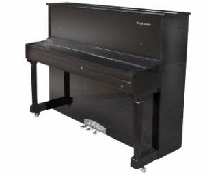 Piano droit d'instruments musicaux (E6-121) avec le système de Digitals