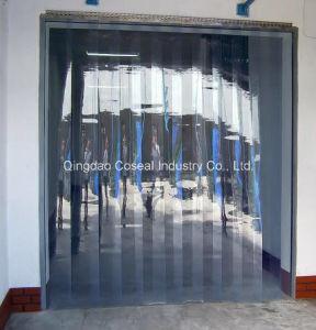 Rideau en bande de PVC de plastique de chambre froide –Rideau en ...