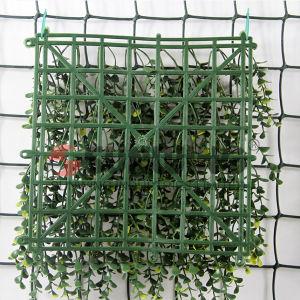 Plantas de pl stico jard n ivy hoja valla seto artificial for Valla plastico jardin