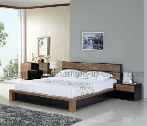 Camas matrimoniales modernas de la cama de madera s lida m x2298 camas matrimoniales - Camas modernas matrimoniales ...