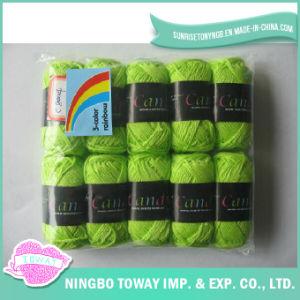 100% Fios de Algodão Weaving Cross Stitch Tópico Knitting Wool