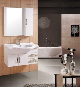 浴室の虚栄心PVC浴室用キャビネット(W-176)