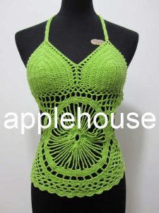 Crochet Vest de señora