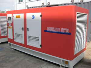 50kw h Series Soundproof Type Generator Powered природным газом