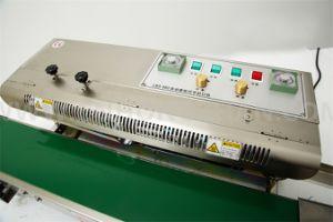 Machine continue de cachetage de sac d'acier inoxydable de CBS900W