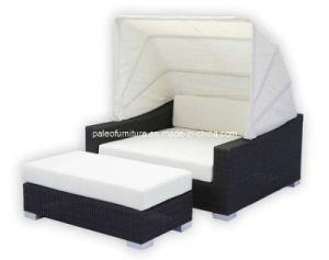 lit en osier de jardin de patio ext rieur de rotin pal 1104 lit en osier de jardin de patio. Black Bedroom Furniture Sets. Home Design Ideas