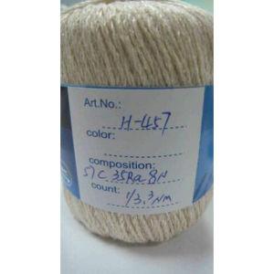 Chapeau de L'hiver D'amorçage de Coton Tricotant à la Main les Filés de Fantaisie