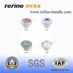 Molettes en céramique de matériel de meubles (C-5856, C-5857, C-5858, C-5859)