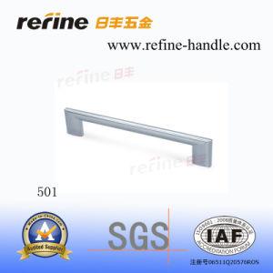 Poignée en alliage de zinc de traction de matériel de Cabinet (Z-501)