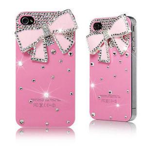 Caja de Diamante de Cristal 3D de Lujo para IPhone 5/5s