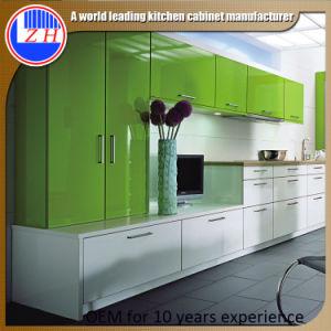 High Glossy Uv Kitchen Cabi. photo - 3