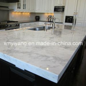 meilleur marbre blanc en cristal pour les comptoirs de cuisine - Marbre Galaxy Cuisine
