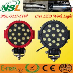 Nouvelles lumières larges de machine/bateau de brouillard de lumière/voiture de travail de la tension (9~32V) 43W LED/lumières pour la pêche