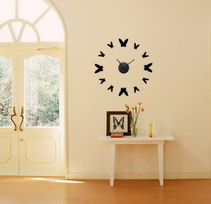 현대 디자인 벽 스티커 시계 – 현대 디자인 벽 스티커 시계에 ...