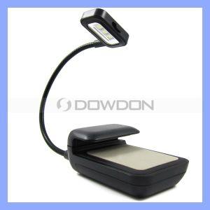 Eindeutiges Mini Klipp-auf Flexible Bright LED Book Light Reading Lamp für E-Buch Reader Kindle3 4