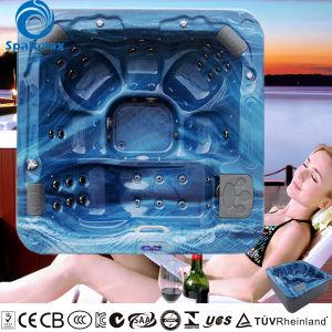 A610 lucite massage acrylique baignoire