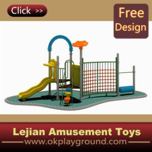 1176 Gymnase plastique en plein air Aire de jeux pour le parc (X1228-5)