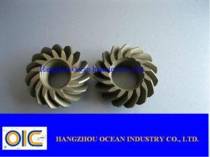 Pignon conique et pignons en spirale