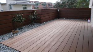 Revestimento popular do Decking do jardim do modelo WPC de Ocox