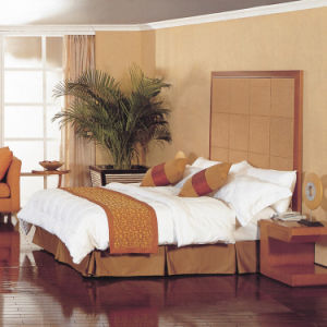 Ensemble de chambre à coucher en bois d'hôtel luxueux (EMT-C0901)