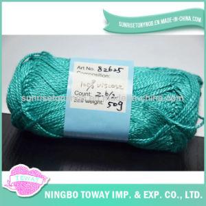 Fio para confeção de malhas de tecelagem de lãs da linha do ponto da cruz da viscose de 100%