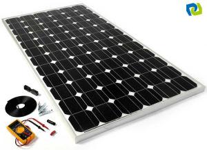 panneau solaire 300w monocristallin pour des n cessaires. Black Bedroom Furniture Sets. Home Design Ideas