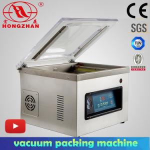 Machine à emballer de vide de dessus de Tableau de Hongzhan Dz400A pour le cachetage de sac de vide