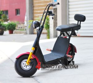 Vespa eléctrica Es5018 de Harley de la movilidad 800W de los asientos sin cepillo de encargo chinos del motor 2