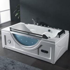 vasca da bagno dellinterno acrilica di massaggio della jacuzzi di nuovo disegno 2017