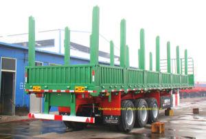 Oplegger van het Vervoer van de Aanhangwagen van het hout de Houten