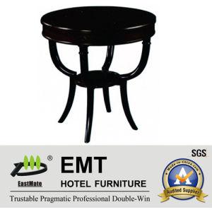 Table basse parfaite en bois plein de laque de piano de plus nouvelle conception de luxe (EMT-CT10)