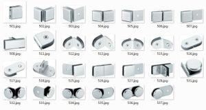 Conector de canto de vidro para chuveiro (FS-506)