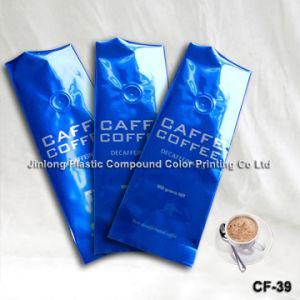 벨브를 가진 알루미늄 호일 커피 포장 부대