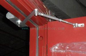 Porte coupe-feu en acier évaluée du feu du prix bas 2.0h avec le certificat des BS et de l'UL (CF-F008)