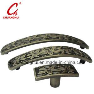 旧式な青銅色の銅の家具の食器棚亜鉛合金のハンドル