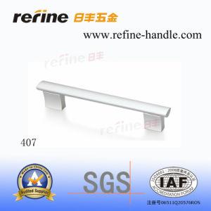 Poignée de porte en aluminium de matériel avec la qualité principale (L-407)